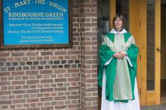 Sally becomes Associate Vicar at Kinsbourne Green